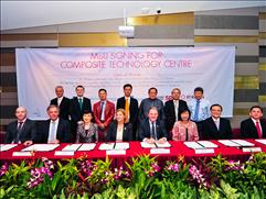 MOU Signing For Composite Technology Centre, Singapore