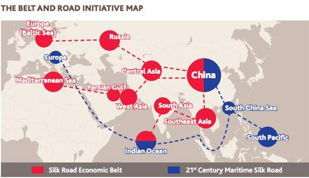 Silk Road Economic Belt and 21st-Century Maritime Silk Road