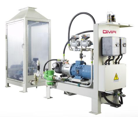 Patented GMA High Pressure Polyol Premix Unit