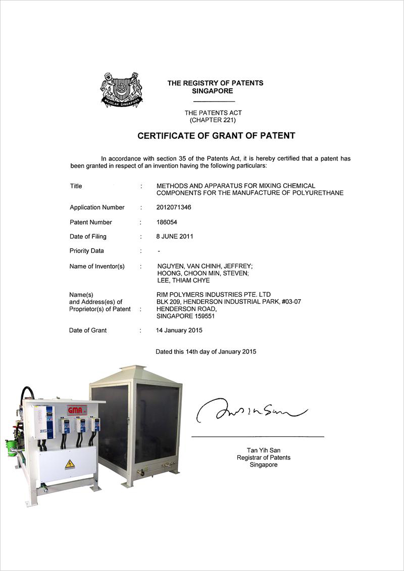 Grant Of Patent By Registrar Of Patents