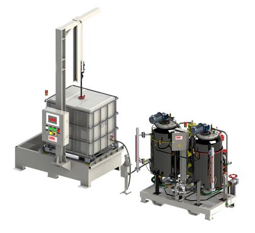 IBC Polyurethane (PU) chemical transfer system
